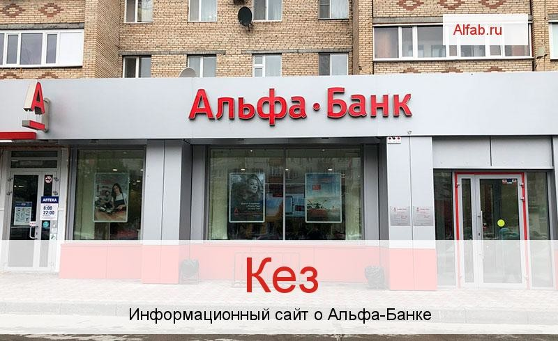 Банкоматы и отделения в городе Кез